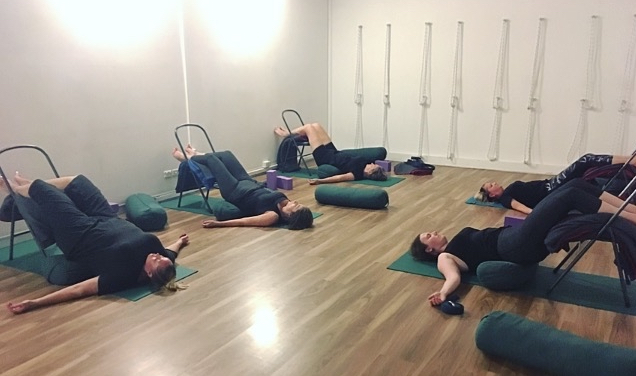 88e8ae4f94 In general, students are also now beginning to practice some yoga at home  when they can't make it in to the studio.