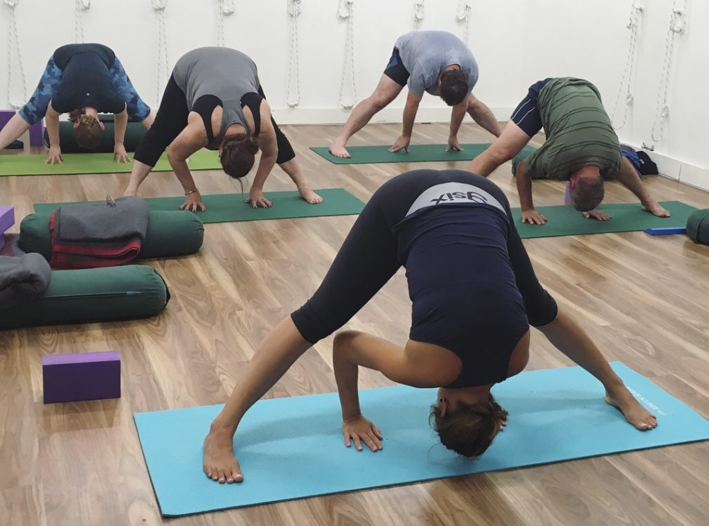 ddf49353e2 ... the most beneficial yoga poses for health. After 10 weeks the main  standing poses have become familiar and students are comfortable in  shoulderstand for ...